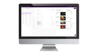 Veredelingssoftware online en offline data registratie